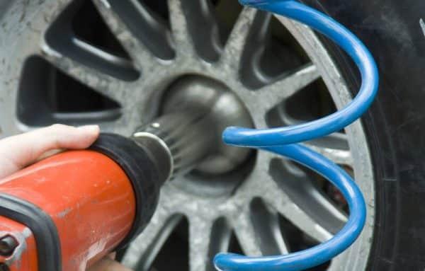 clé à choc pneumatique