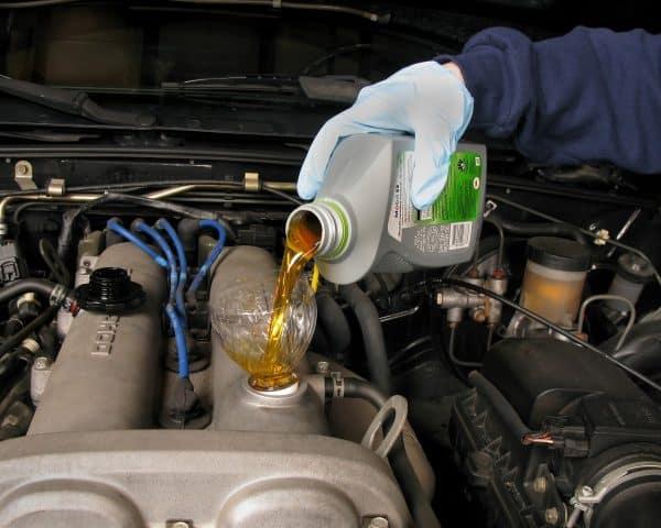 changement huile 5w40